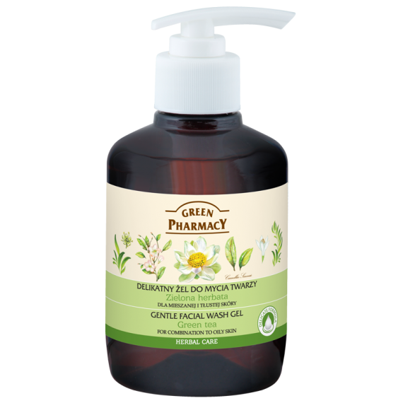 Gentle facial wash gel for skin prone to irritation Sage - GREEN PHARMACY