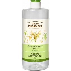 Micellar Solution 3 in 1 Oat 250ml - GREEN PHARMACY