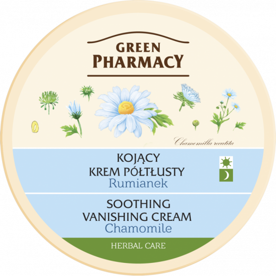 Soothing, vanishing cream Chamoile - GREEN PHARMACY