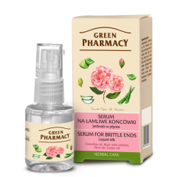 Liquid silk - Serum for brittle ends - GREEN PHARMACY