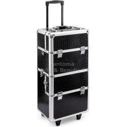 Beauty Trolley Case MAX - SILVER
