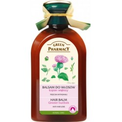 Balm against hair loss Burdock Oil -- GREEN PHARMACY