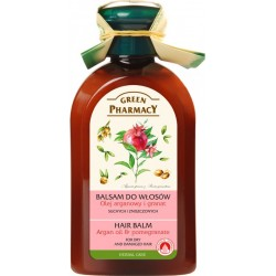 Balm for dry and damaged hair Argan Oil and Pomegranate - GREEN PHARMACY