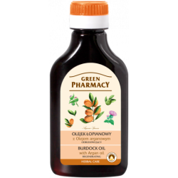 Burdock oil with argan oil - regenerating - GREEN PHARMACY