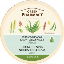 Strengthening and nourishing cream Aloe - GREEN PHARMACY