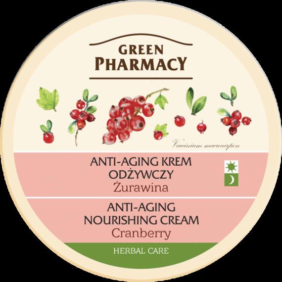 Anti-aging nourishing cream Cranberry - GREEN PHARMACY