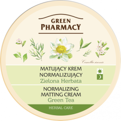 Normalizing matting cream Green Tea - GREEN PHARMACY