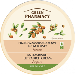 Anti-wrinkle ultra rich cream Argan - GREEN PHARMACY