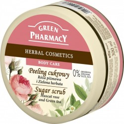 Sugar Scrub Muscat rose and Green tea - GREEN PHARMACY